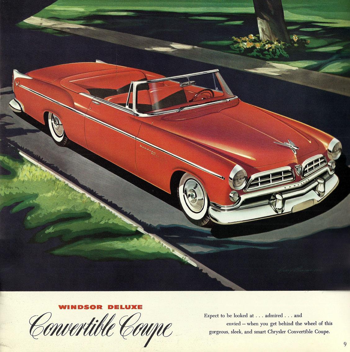 Classic Cars, 1955 Chrysler Windsor