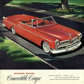 Classic Cars, 1955 ChryslerWindsor