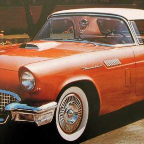 Classic Cars, The 1955 Ford Thunderbird