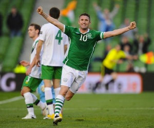 Republic of Ireland v Northern Ireland - Carling Nations Cup