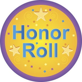 Seventh Grade Honor Roll, Fall 15 Week
