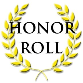 9th Grade Honor Roll, Fall 15 Week