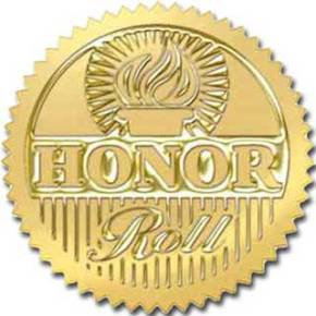 Eighth Grade Honor Roll, Fall 15 Week