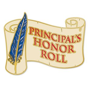 Principal's Honor Roll, 15 Week, Spring