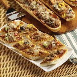 Sausage French Bread Pizza Recipe