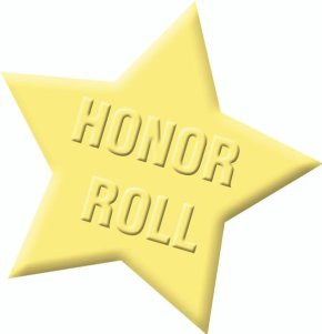 Seventh Grade Honor Roll, Fall 20 Week
