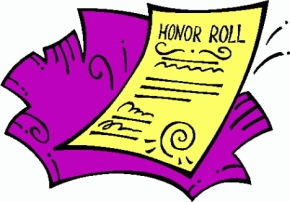 9th Grade Honor Roll, Fall 20 Week